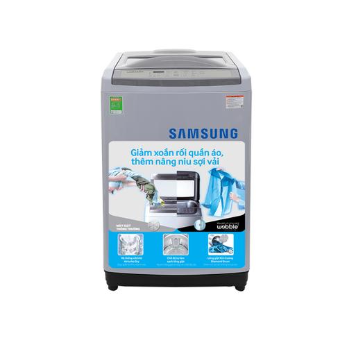 Máy giặt lồng đứng samsung wa90m5120sg sv 9.0kg - 16998200 , 22181736 , 15_22181736 , 4490000 , May-giat-long-dung-samsung-wa90m5120sg-sv-9.0kg-15_22181736 , sendo.vn , Máy giặt lồng đứng samsung wa90m5120sg sv 9.0kg