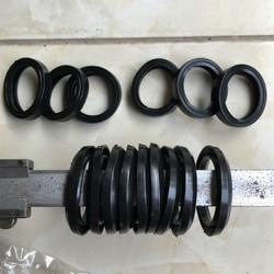 PHỚT RỬA XE Bộ 9 phớt nước và 6 lót van một chiều của máy rửa xe chạy dây cudoa NK48 chạy mô tơ 2.2kw