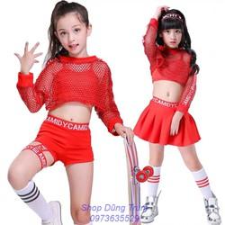 Trang phục nhảy hiện đại cho bé