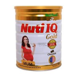 Sữa bột nuti IQ mum gold vani 900g
