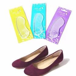 Bộ 2 miếng lót gót giày silicon êm chân