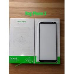 Kính cường lực Asus Rog Phone 2 hiệu Monqiqi Full màn chơi game mượt h