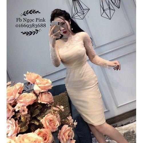 Đầm body tay dài phối ren nữ thời trang mới - 19457354 , 22187525 , 15_22187525 , 110000 , Dam-body-tay-dai-phoi-ren-nu-thoi-trang-moi-15_22187525 , sendo.vn , Đầm body tay dài phối ren nữ thời trang mới