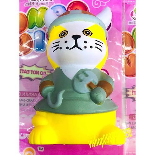 Squishy mèo cầm rìu thaolinh950