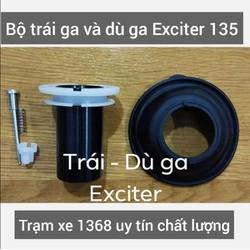TRÁI GA VÀ DÙ GA BÌNH XĂNG CON XE EXCITER 135