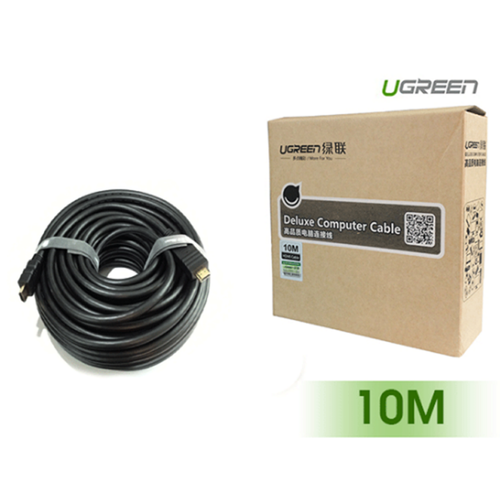 Cáp hdmi dài 10m cao cấp hỗ trợ ethernet + 4k 2k hdmi chính hãng ugreen ug-10110 - 18909074 , 22180562 , 15_22180562 , 350000 , Cap-hdmi-dai-10m-cao-cap-ho-tro-ethernet-4k-2k-hdmi-chinh-hang-ugreen-ug-10110-15_22180562 , sendo.vn , Cáp hdmi dài 10m cao cấp hỗ trợ ethernet + 4k 2k hdmi chính hãng ugreen ug-10110