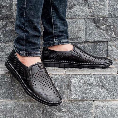 Giày lười nam mẫu giày hè loại bỏ mùi hôi chân