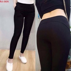 Combo 2 quần legging nâng mông vải mịn đẹp 2 túi trước - Được kiểm tra hàng