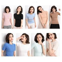 Áo len dệt kim nhiều màu AN68