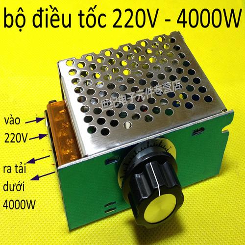 Dimmer 4000w điều tốc động cơ ac 220v - 19465341 , 22199220 , 15_22199220 , 99000 , Dimmer-4000w-dieu-toc-dong-co-ac-220v-15_22199220 , sendo.vn , Dimmer 4000w điều tốc động cơ ac 220v