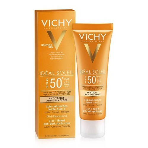 Kem chống nắng Vichy Ideal Soleil 3-in-1 Tinted Anti – Dark Spots Care SPF50+