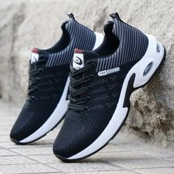 Giầy thể thao nam, Giày sneaker vải nam HOT - 2 màu đen, xanh