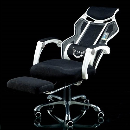 Ghế game- ghế cho game thủ- ghế xoay văn phòng có ngả lưng, duỗi chân