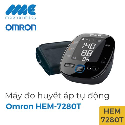 Máy đo huyết áp tự động đo bắp tay omron hem - 7280t