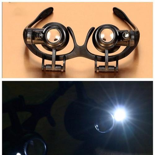 Kính lúp sửa chữa đồng hồ có đèn led