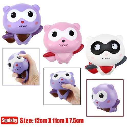 12cm cute panda man cartoon scented squishy slow rising squeeze toy