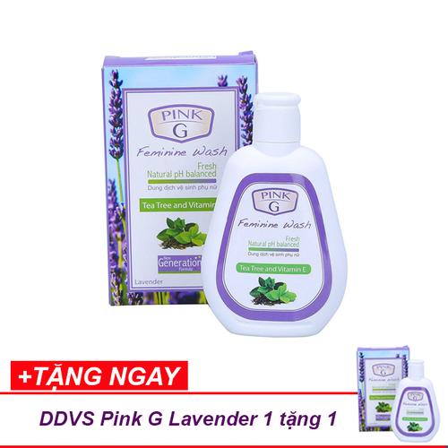 [1 tặng 1] dung dịch vệ sinh phụ nữ pink g hương lavender ngăn mùi 100ml [thương hiệu chính hãng] - 19512593 , 22490310 , 15_22490310 , 70000 , 1-tang-1-dung-dich-ve-sinh-phu-nu-pink-g-huong-lavender-ngan-mui-100ml-thuong-hieu-chinh-hang-15_22490310 , sendo.vn , [1 tặng 1] dung dịch vệ sinh phụ nữ pink g hương lavender ngăn mùi 100ml [thương hiệu c