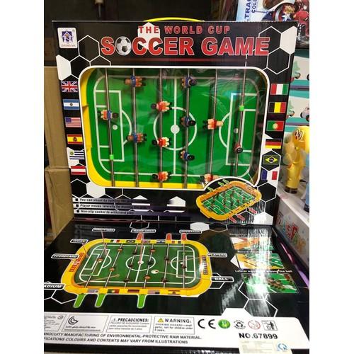Bộ đồ chơi bàn bi lắc bóng đá cho bé