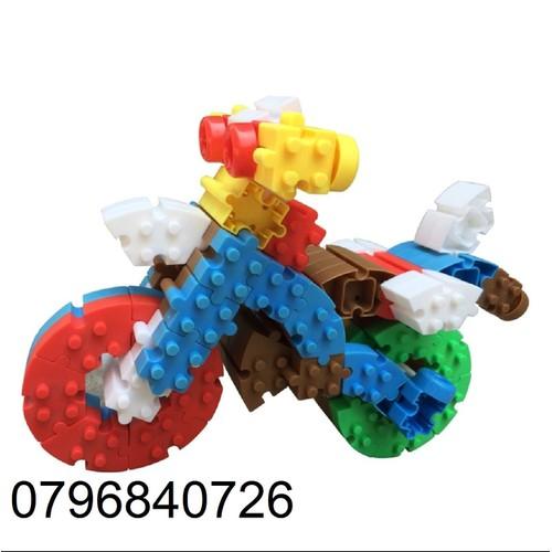 Đồ chơi lắp ráp mô hình xe máy