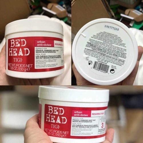 Dầu hấp phục tóc hư tổn bed head tigi 200g