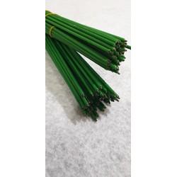 cây kẽm làm cành hoa vải - giấy 25k bó 50c