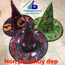 Trang Phục hóa Trang halloween-Nón Phù Thủy 07