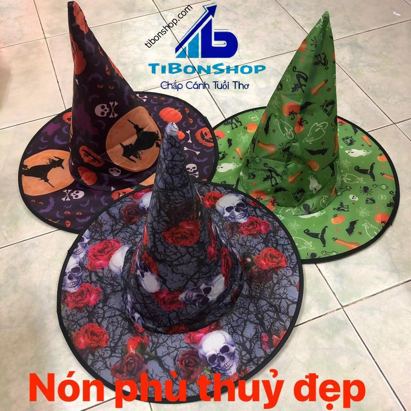 Trang Phục hóa Trang halloween-Nón Phù Thủy 07 – n1n