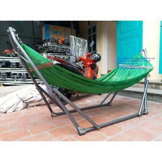 Võng Xếp Sài Gòn Kèm Lưới Võng Phi 32 Size Lớn Tặng lưới to - 140 thumbnail