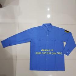 GIẢM GIÁ Áo bảo vệ vải ford tay dài sang trọng, chống nắng màu xanh dương - hình thật, có sẵn