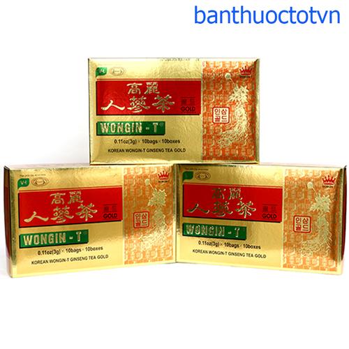 Wongin-T trà sâm vàng hàn quốc hộp 100 gói x 3g - trà sâm wongin tea - 17945235 , 22498133 , 15_22498133 , 85000 , Wongin-T-tra-sam-vang-han-quoc-hop-100-goi-x-3g-tra-sam-wongin-tea-15_22498133 , sendo.vn , Wongin-T trà sâm vàng hàn quốc hộp 100 gói x 3g - trà sâm wongin tea