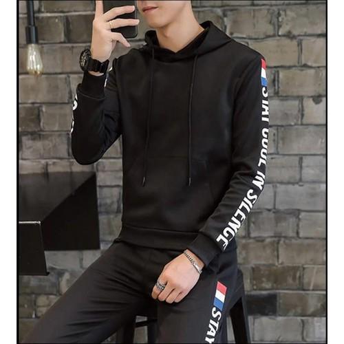Bộ hoodie nam - hoodie nam - bộ nỉ nam - bộ quần áo nam - bộ nỉ hoodie - bộ nỉ nam đẹp