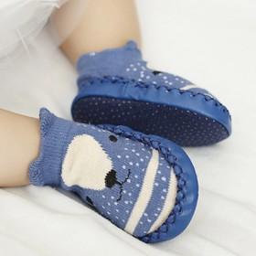 GIÀY TẬP ĐI CHO BÉ-Giày tất/vớ tập đi chống trơn trượt cho bé-NGẪU NHIÊN - giaytapdi