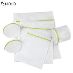 Combo Bộ 6 Túi Giặt Đồ Đa Năng Chất Liệu Sợi Polyester Thoáng Khí Nhiều Kích Cỡ