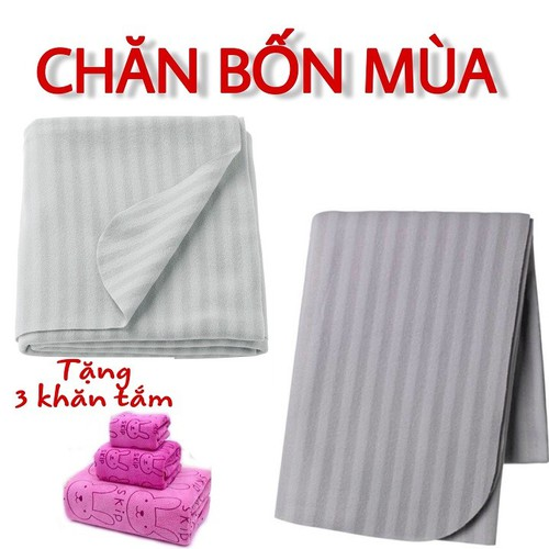 Chăn ikea tặng kèm ộ 3 khăn tắm