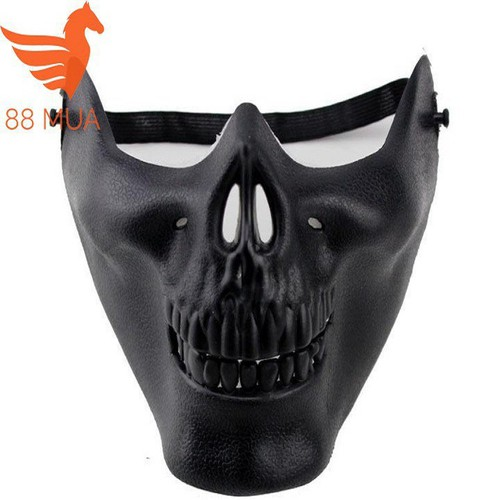 Mặt nạ halloween mặt nạ masquerade mặt nạ cosplay nửa khuôn mặt nạ chiến binh đen q53 mã fl2432 - 17122913 , 22482298 , 15_22482298 , 49981 , Mat-na-halloween-mat-na-masquerade-mat-na-cosplay-nua-khuon-mat-na-chien-binh-den-q53-ma-fl2432-15_22482298 , sendo.vn , Mặt nạ halloween mặt nạ masquerade mặt nạ cosplay nửa khuôn mặt nạ chiến binh đen q53