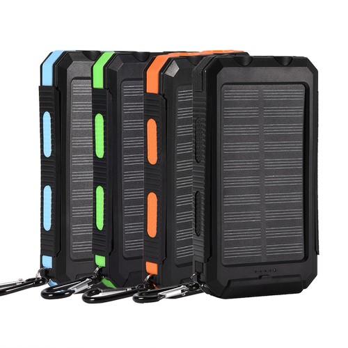 Pin sạc dự phòng năng lượng mặt trời diy 10000mah zipper