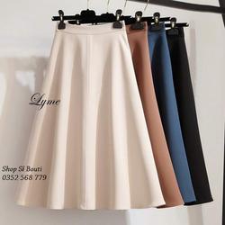 Chân váy xòe Zarha sang trọng - form dáng chuẩn, nhiều size và màu, thích hợp mặc công sở, dự tiệc hoặc dạo phố