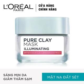Mặt Nạ Đất Sét L Oreal Paris Pure Clay Mask Illuminating sáng da 50g - Mặt Nạ Đất Sét sáng da thumbnail