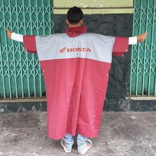 Áo mưa Honda cánh dơi giá rẻ - AM01