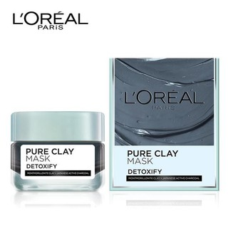 Mặt Nạ Đất Sét L Oreal Paris Pure Clay Mask Dìtoxify 50g _Detoxify giảm mụn - Mặt Nạ Đất Sét thumbnail