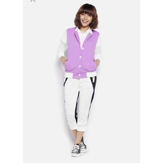 Áo khoác bóng chày nữ tay phối lưới - AKNN thumbnail