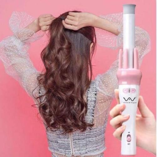 Máy làm xoăn tóc tự động - máy uốn tóc tự động - máy điện uốn tóc