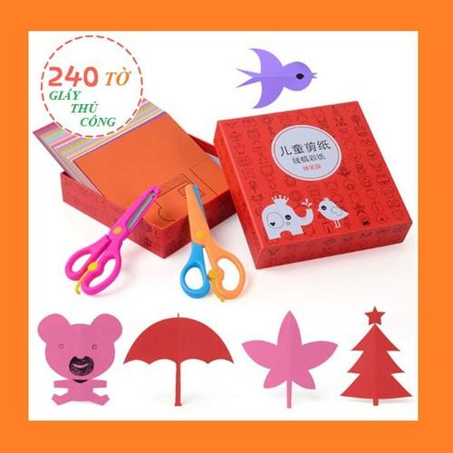 [ 02 kéo nhựa ] bộ cắt giấy tạo hình 240 tờ - đồ chơi thủ công cho bé tập vẽ và dán giấy - 17960612 , 22518629 , 15_22518629 , 80000 , -02-keo-nhua-bo-cat-giay-tao-hinh-240-to-do-choi-thu-cong-cho-be-tap-ve-va-dan-giay-15_22518629 , sendo.vn , [ 02 kéo nhựa ] bộ cắt giấy tạo hình 240 tờ - đồ chơi thủ công cho bé tập vẽ và dán giấy