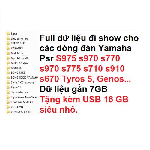 Bộ full dữ liệu đi show dành cho dòng đàn organ yamaha psr s975 s775 s970 s770 tyros 5 a2000 s710 s910 s670 tặng kèm usb 16gb siêu nhỏ - 17968004 , 22528392 , 15_22528392 , 590000 , Bo-full-du-lieu-di-show-danh-cho-dong-dan-organ-yamaha-psr-s975-s775-s970-s770-tyros-5-a2000-s710-s910-s670-tang-kem-usb-16gb-sieu-nho-15_22528392 , sendo.vn , Bộ full dữ liệu đi show dành cho dòng đàn org