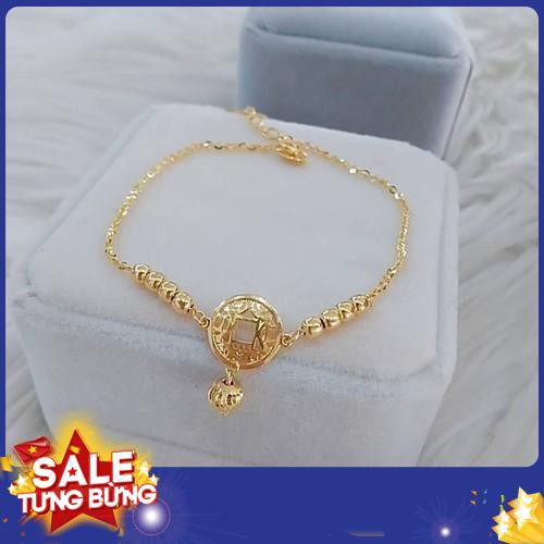 Lắc chân nữ kim tiền may mắn cực đẹp cực điệu đà giá tốt lc1201 2019 sale