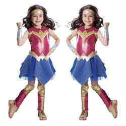 Trang Phục Wonder Woman Trẻ Em