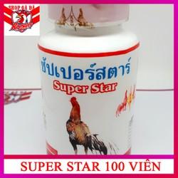 Super Star 100 viên thuốc nuôi gà đá tăng cơ