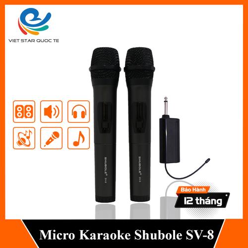 [ tặng 1 jack chuyển 6 qua 3. ] micro karaoke - micro không dây sv-8 - 2 micro - đổi mới trong 07 ngày - bảo hành trọn gói 12 tháng - 17956007 , 22511681 , 15_22511681 , 650000 , -tang-1-jack-chuyen-6-qua-3.-micro-karaoke-micro-khong-day-sv-8-2-micro-doi-moi-trong-07-ngay-bao-hanh-tron-goi-12-thang-15_22511681 , sendo.vn , [ tặng 1 jack chuyển 6 qua 3. ] micro karaoke - micro không