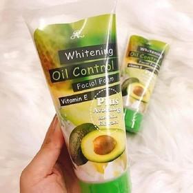 Sữa Rửa Mặt Bơ Aron Whitening Oil Control - Sửa Rửa Mặt