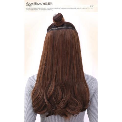 [Tóc giả] tóc giả cúp đuôi dài 50cm- chất tóc đệt thu công y tóc thật , không bóng, mềm mượt., sử dụng nhiệt tốt 220độ- 3 màu: đen, nâu đỏ nhạt, nâu vàng socola. tóc xoăn đuôi nhẹ-tóc nữa đầu dài-tóc  - 17958629 , 22515341 , 15_22515341 , 169000 , Toc-gia-toc-gia-cup-duoi-dai-50cm-chat-toc-det-thu-cong-y-toc-that-khong-bong-mem-muot.-su-dung-nhiet-tot-220do-3-mau-den-nau-do-nhat-nau-vang-socola.-toc-xoan-duoi-nhe-toc-nua-dau-dai-toc-gia-cup-duoi-toc